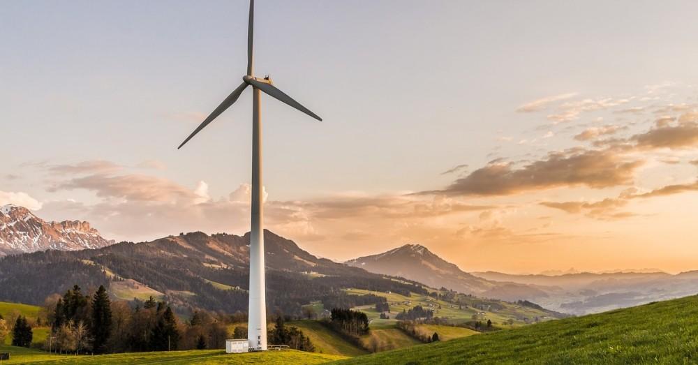 Komplett recycelbare Windkraftanlagen