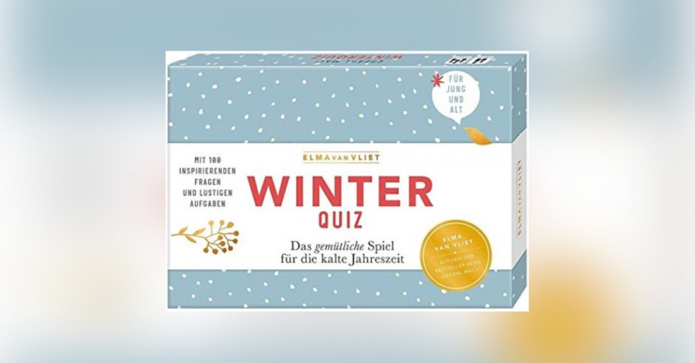 Erzähl mal! Winterquiz: Das gemütliche Spiel für die kalte Jahreszeit. Mit 100 inspirierenden Fragen und lustigen Aufgaben - Buchrezension