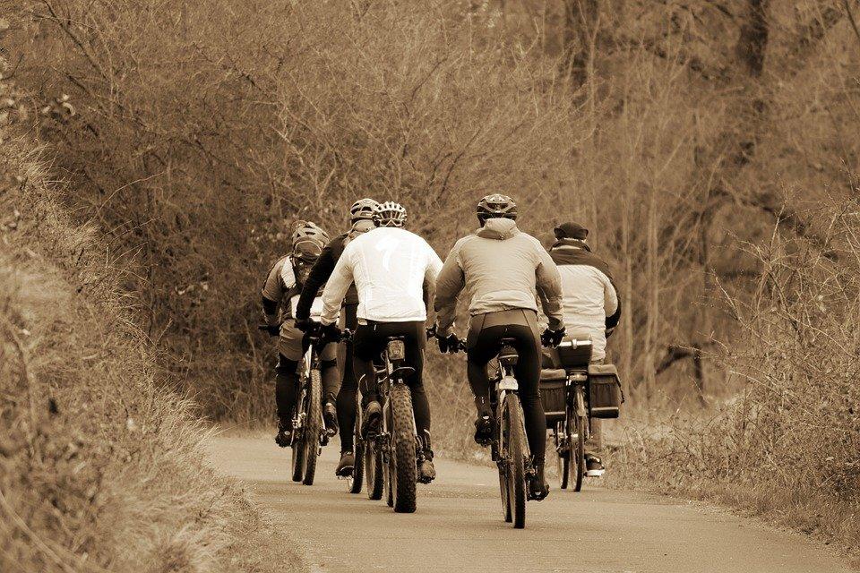 Italien fördert das Fahrrad fahren