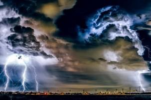 Forscher haben ein Frühwarnsystem für Megastürme entwickelt