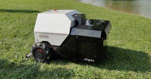 Roboter befreit Parks von kleinsten Müllteilen