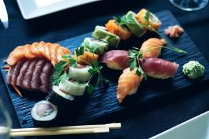 Vegane Fischalternative zu Sushi-Fisch
