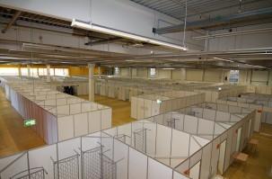 Staatsgebäude in Brüssel und Straßburg werden Notunterkünfte